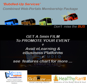 GET A 5min FILM to PROMOTE YOUR EVENT + Avail e Learning & e Business Platforms + options for more