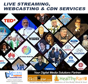 Live Streaming, Webcasting & CDN Services - vsworld.com