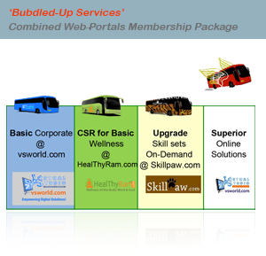 BUNDLED UP SERVICE PACKAGE: ₹ 1 LAC/YEAR